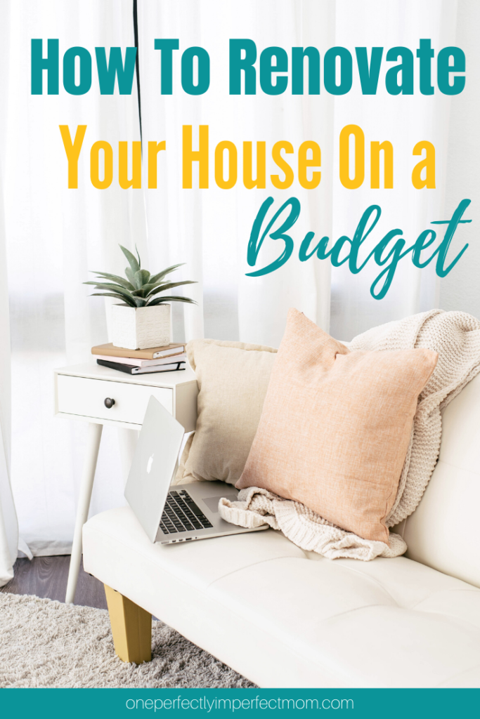 renovate your house on a budget