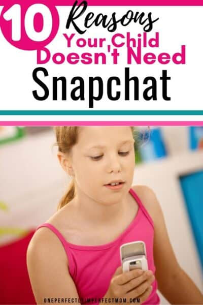 your children and snapchat