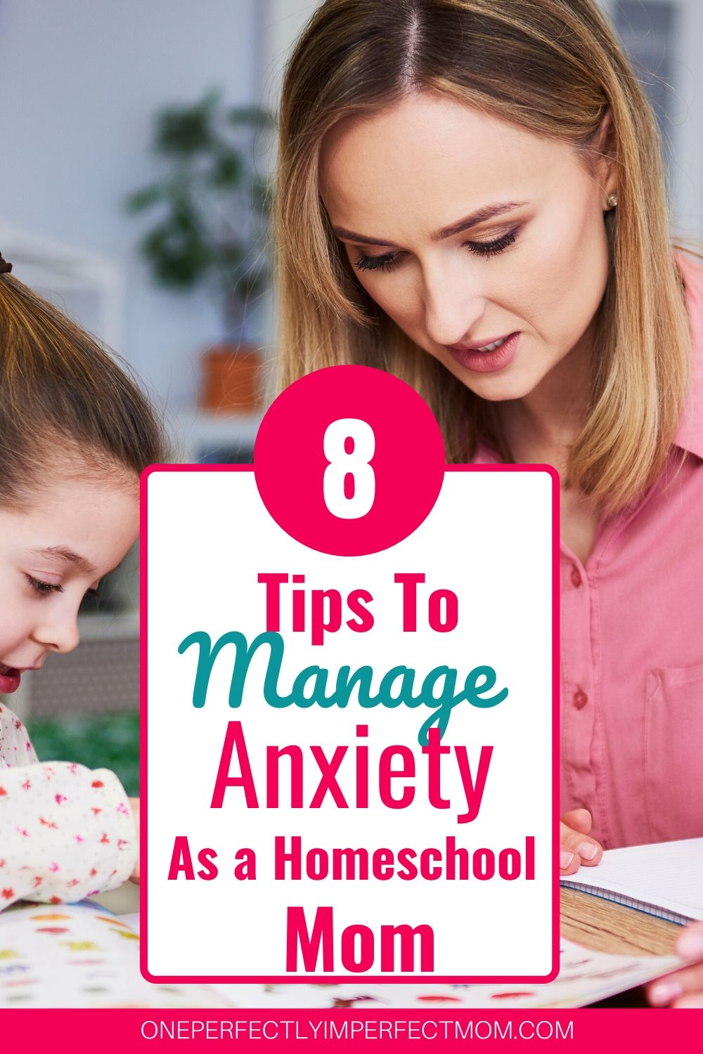 prevent anxiety as a first time homeschool mom
