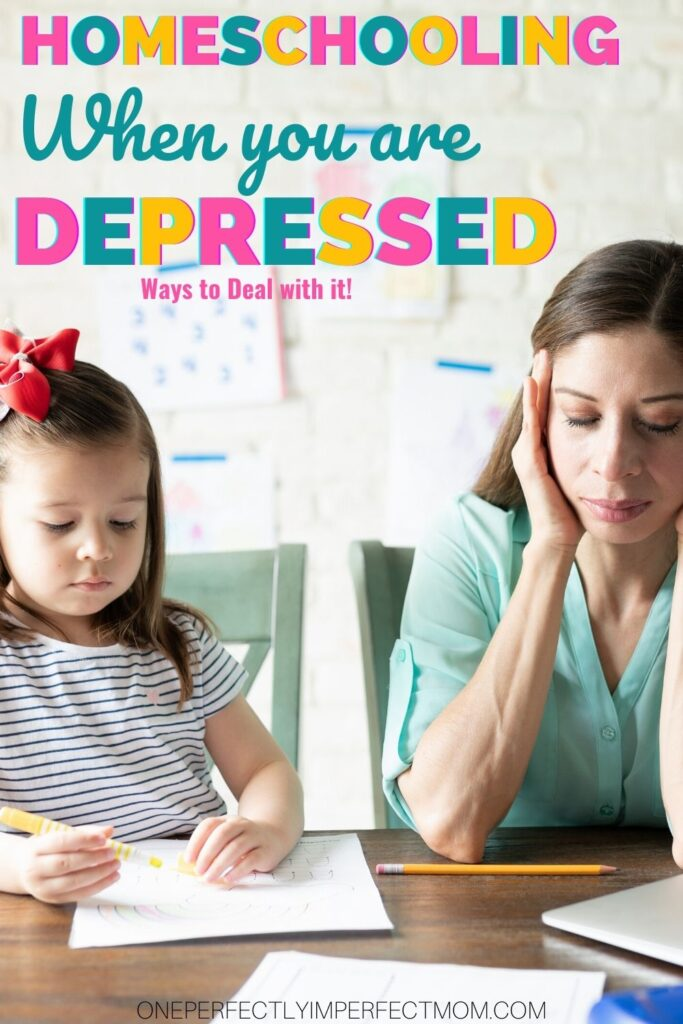 homeschooling with depression