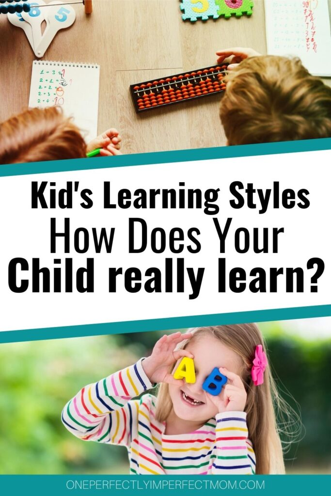 kids learning styles