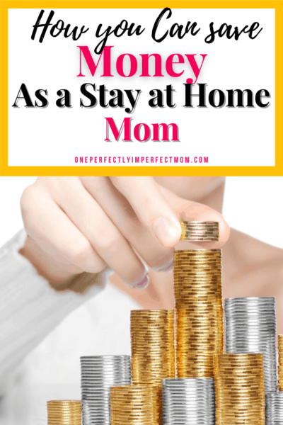 how to save money as a stay at home mom