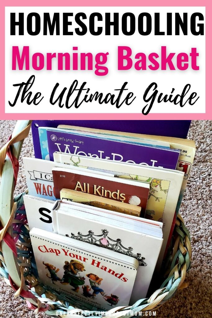 Learn everything you need to know about creating a morning basket for your preschooler, kindergartener, or first grader. These ideas are great for families that are new to homeschooling. Find out what are some morning basket essentials.