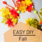 DIY fall butterflies