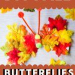DIY fall butterflies
