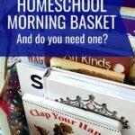 homeschool morning basket