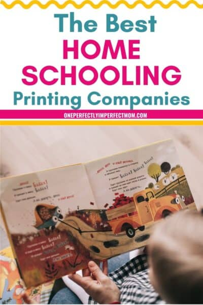printing for homeschoolers
