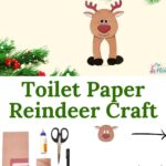 Toilet Paper Reindeer Craft