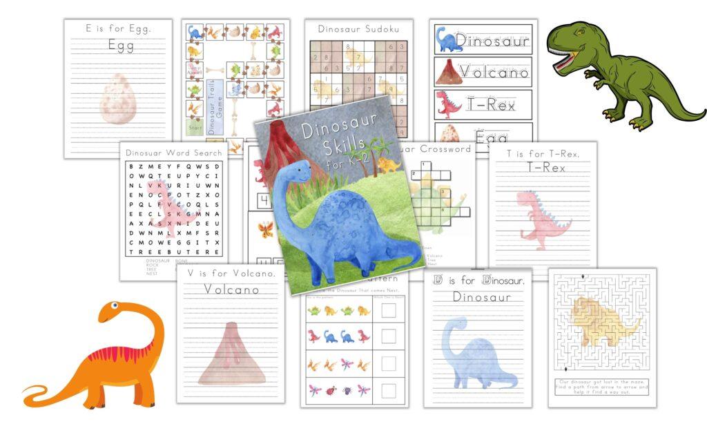 dinosaur unit study for homeschooling
