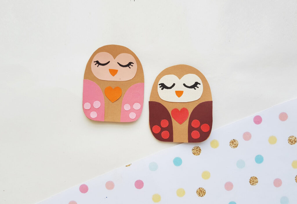 owl paper craft for kids