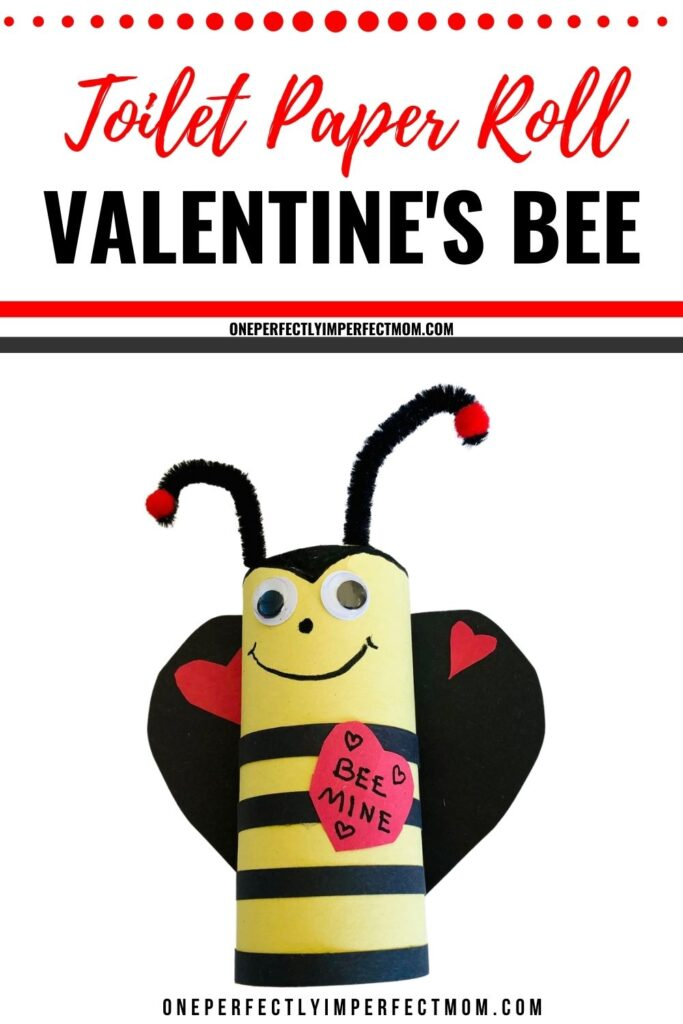toilet paper roll valentines bee