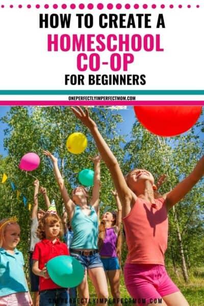 how to create a homeschool co-op?