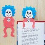thing 1 and 2 bookmark