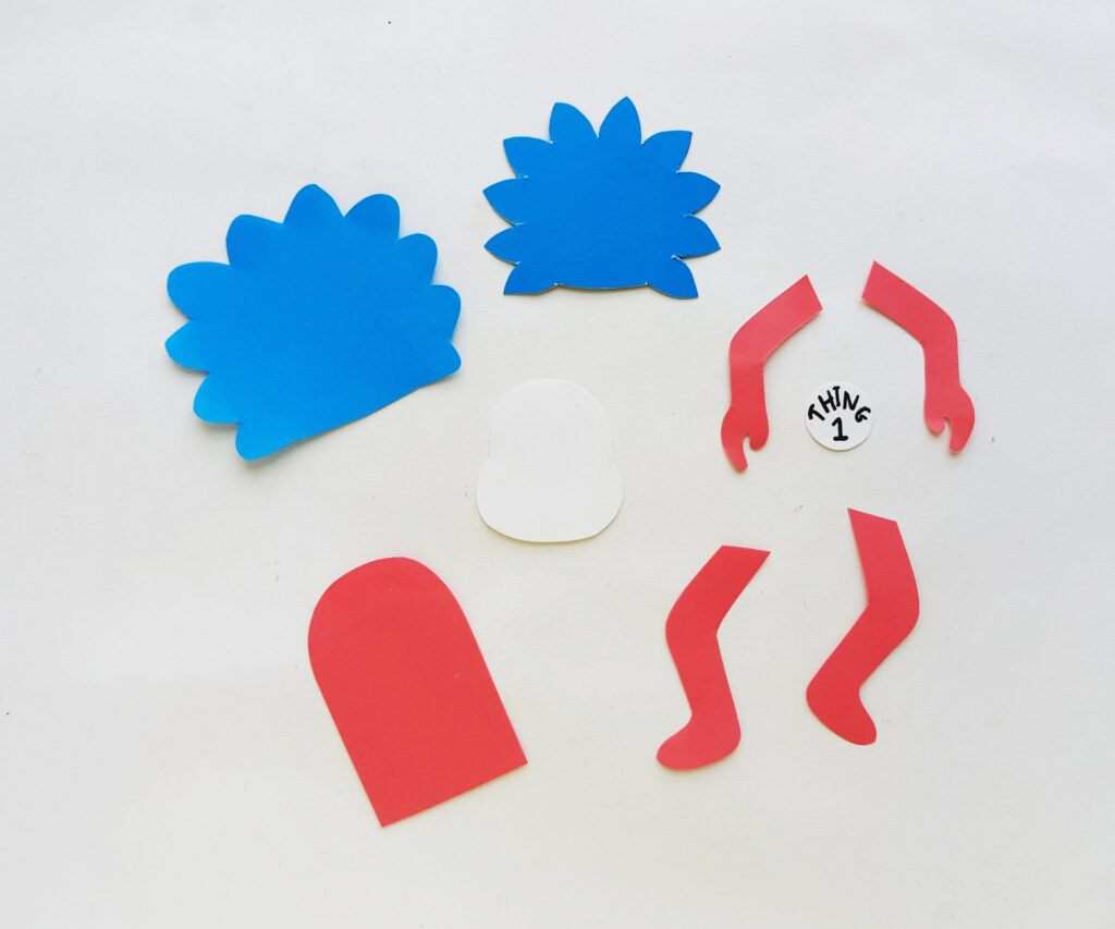 Thing 1 and 2 bookmark Step (1)