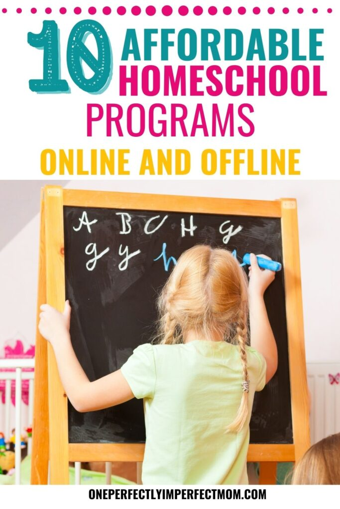 affordable homeschool programs