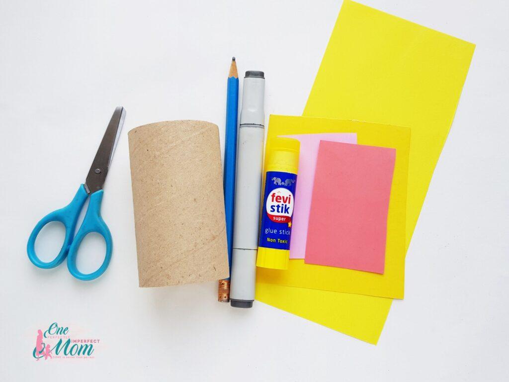 Pikachu Toilet Paper Roll Craft Supplies
