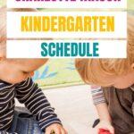 charlotte mason kindergarten schedule