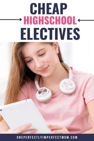 free and cheap high school electives