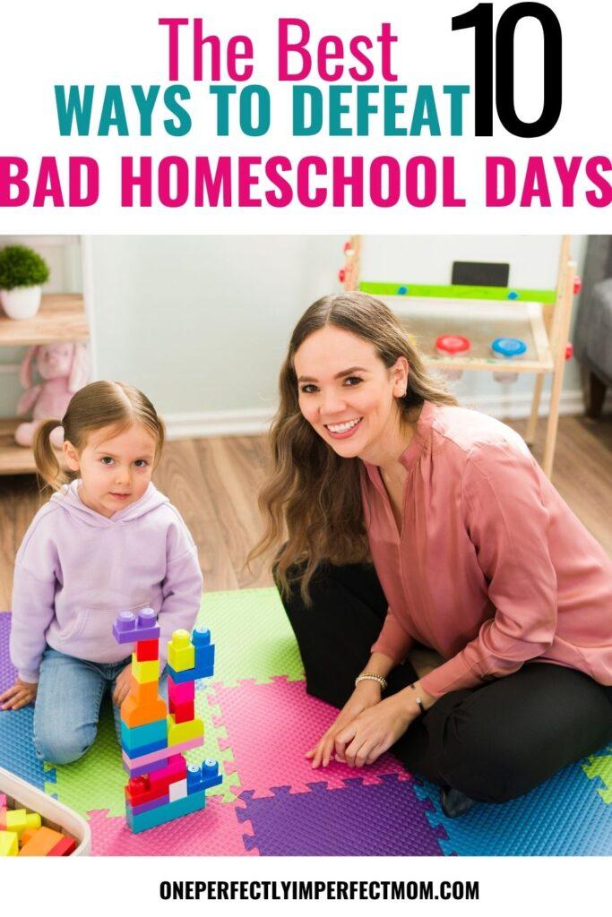 BAD HOMESCHOOL DAYS (2)